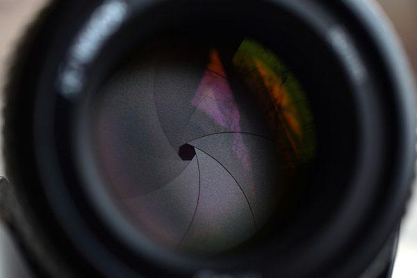 دیافراگم لنز دوربین
