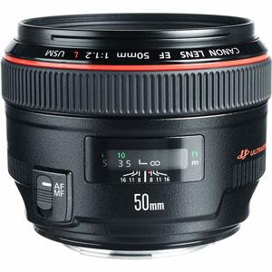 لنز دوربین کانن f1.2 مدل 50mm