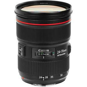 لنز دوربین کانن EF 24-70mm f2.8L II USM