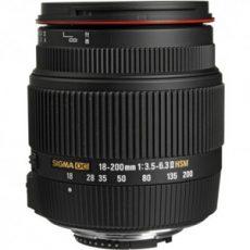 لنز زوم سیگما 18-200mm F3.5-6.3 II DC OS
