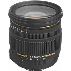 لنز سیگما 18-50mm f/2.8 EX DC HSM Macro
