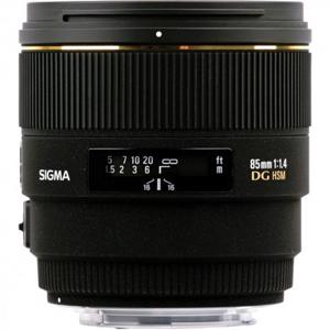 لنز سیگما 85mm f/1.4 EX DG HSM