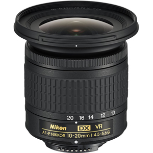 لنز نیکون AF-P DX 10-20mm f/4.5-5.6G VR