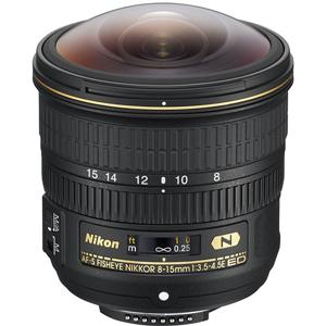 لنز نیکون AF-S 8-15mm f/3.5-4.5E ED Fisheye