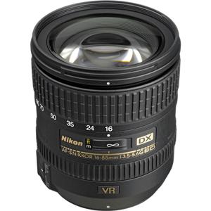 لنز نیکون AF-S DX 16-85mm f/3.5-5.6G ED VR