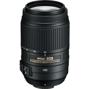لنز نیکون AF-S DX 55-300mm f/4.5-5.6G ED VR