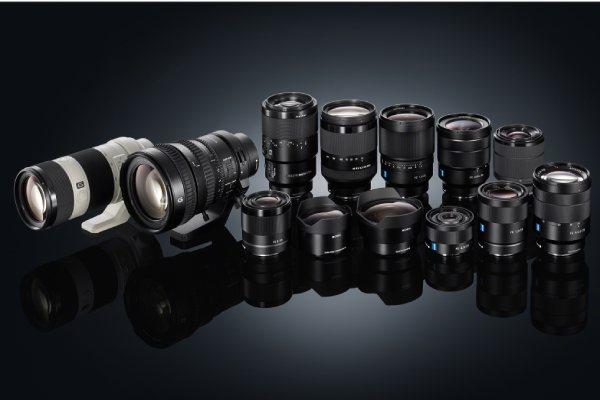 بهترین لنز دوربین های سونی