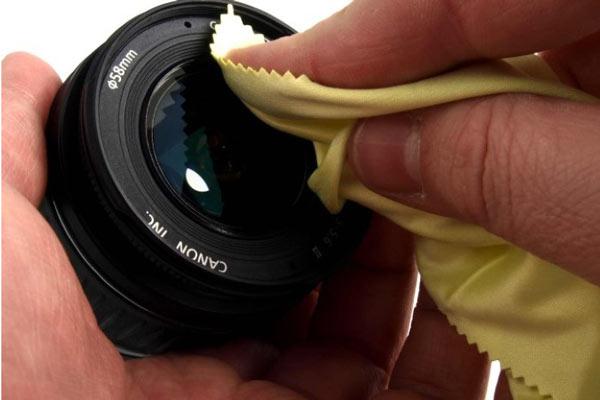 دستمال تمیز کننده لنز دوربین