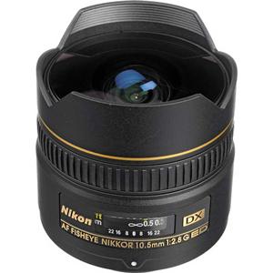 لنز نیکون AF10.5mm f/2.8G ED DX VR FISHEYE