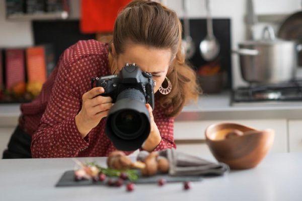 مشخصات لنز مناسب برای عکاسی غذا