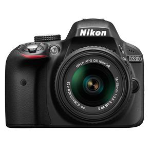دوربین دیجیتال نیکون D3300 با لنز 18-55 میلیمتری