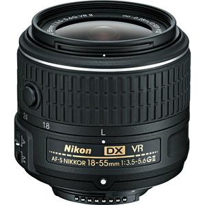 لنز نیکون AF-S DX NIKKOR 18-55mm f/3.5-5.6G II VR