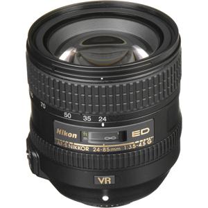 لنز نیکون AF-S NIKKOR 24-85mm f/3.5-4.5G ED VR