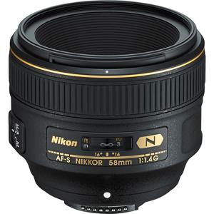 فروش لنز دوربین عکاسی نیکون AF-S Nikkor 58mm f/1.4G