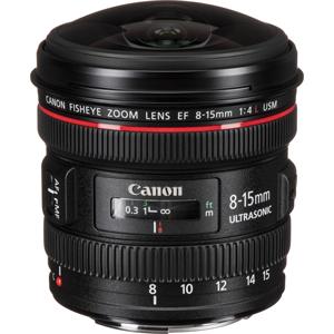 خرید لنز دوربین کانن EF 8-15mm f/4L USM Fisheye