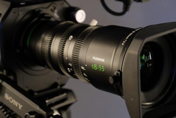 لنز fujifilm MKX18 55mmT2.9