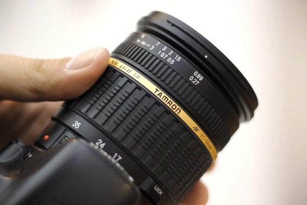 ویژگی SP 17-50mm F/2.8 XR Di II VC