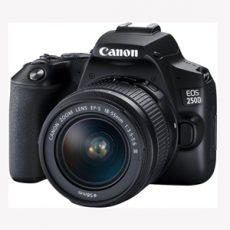خرید دوربین ارزان کانن 250D با کیت 18-55 میلیمتری