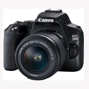 دوربین عکاسی کانن 250D با کیت 18-55 میلیمتری