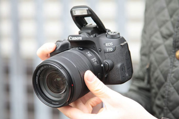 دوربین عکاسی کانن Canon 77D با لنز 135-18 USM
