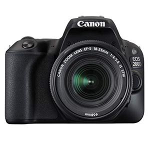 قیمت دوربین عکاسی آماتور Canon 200D با لنز 18-55 میلیمتری