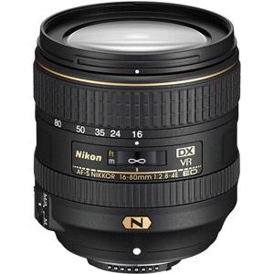 لنز نیکون AF-S DX NIKKOR 16-80mm f/2.8-4E ED VR