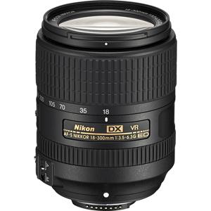 لنز نیکون AF-S DX NIKKOR 18-300mm f/3.5-6.3G ED VR