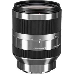 لنز Sony E 18-200mm f/3.5-6.3 OSS
