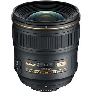 لنز دوربین نیکون AF-S NIKKOR 24mm f/1.4G ED