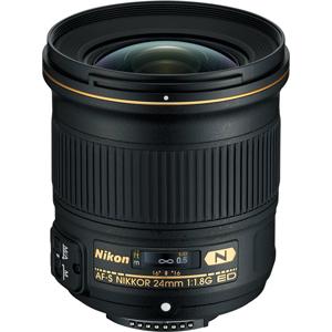 خرید لنز نیکون AF-S NIKKOR 24mm f/1.8G ED