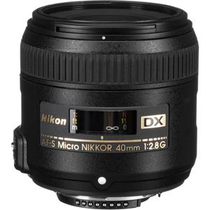 لنز ماکرو نیکون AF-S DX NIKKOR 40mm f/2.8G