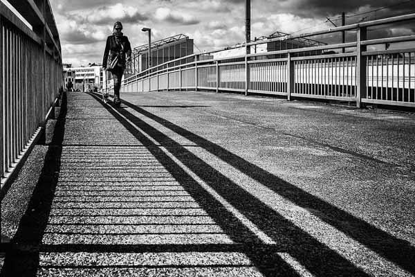 اهمیت سایه در عکاسی سیاه و سفید