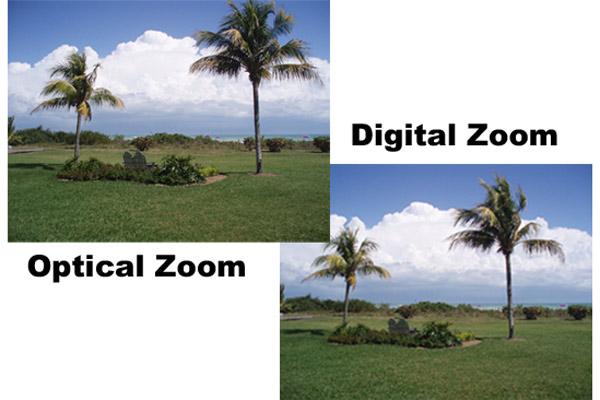 تفاوت زوم اپتیکال و زوم دیجیتال