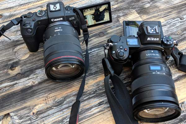 دوربین های کانن Eos RP و نیکون Z6