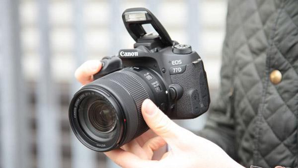 دوربین 77d کانن مناسب آماتور و رشته عکاسی