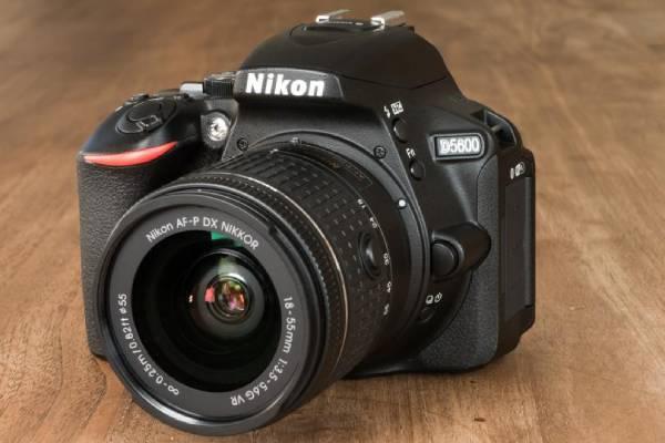 سایز دوربین نیکون D5600