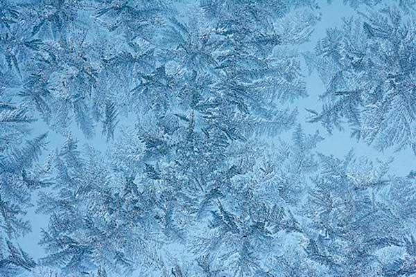سوژه های سبک انتزاعی در عکاسی زمستانی