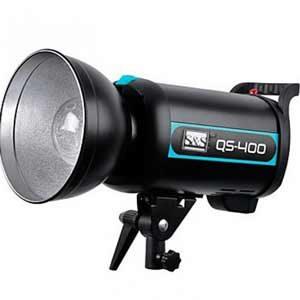 خرید فلاش چتری استودیویی ۴۰۰ ژول S&S QS-400 II