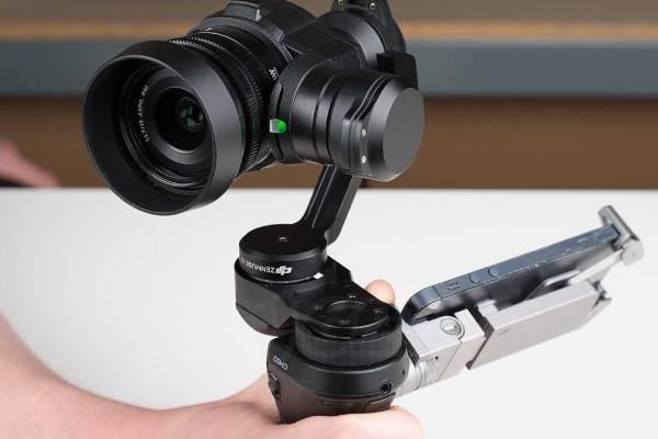 لنز دوربین گیمبال Zenmuse X5