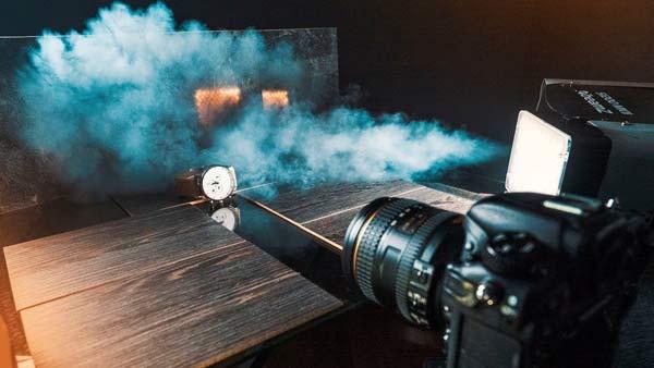 تنظیمات دوربین برای عکاسی از دود
