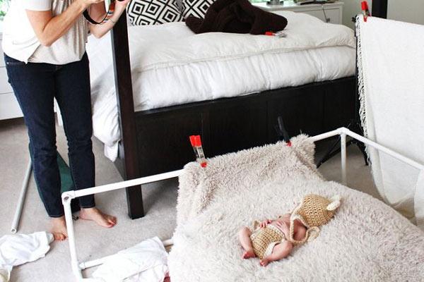 شروع عکاسی از نوزاد