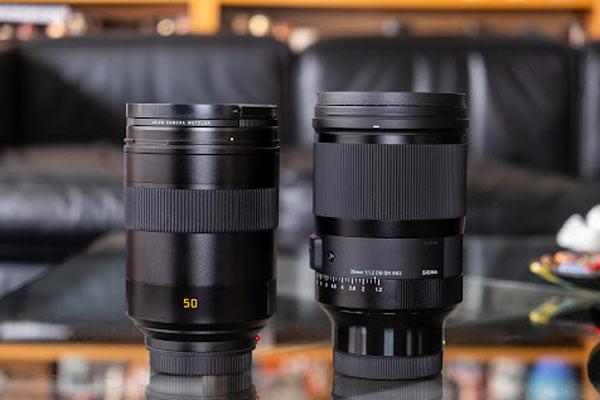 لنز دوربین آرت پرایم 35mm F1.2 DG DN Art