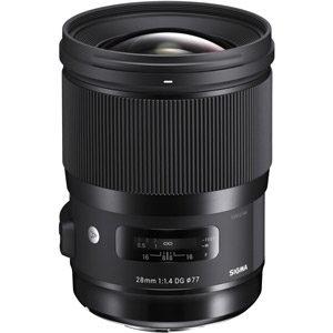 لنز دوربین عکاسی 28mm F1.4 DG HSM | Art سیگما