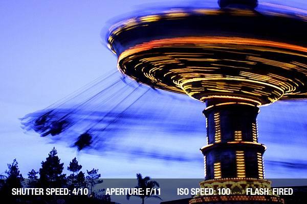 تنظیم سرعت شاتر در عکاسی از سوژه متحرک