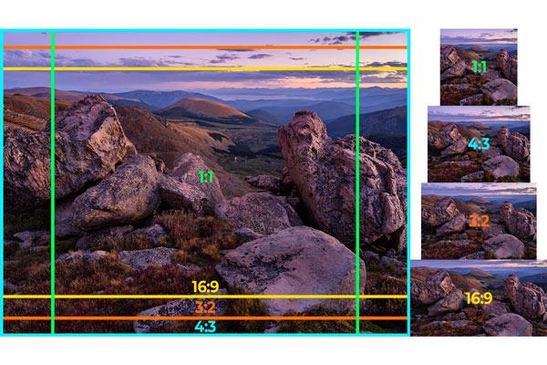 نسبت ابعاد تصویر چیست