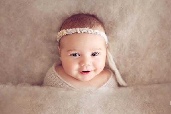 پوشش مناسب برای عکاسی از نوزادان