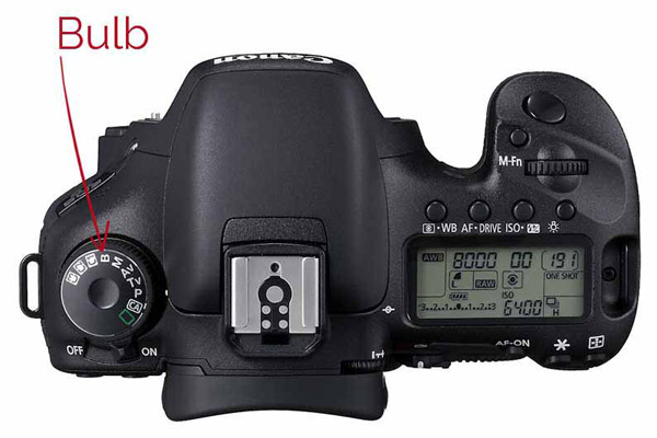 پیدا کردن bulb mode در دوربین عکاسی