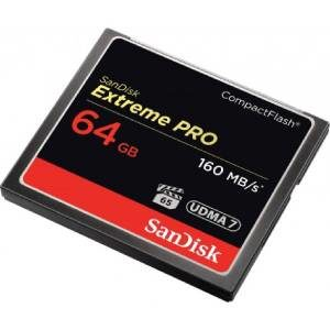 قیمت کارت حافظه دوربین SanDisk CF Extreme Pro 64 GB160(MBs)1067X