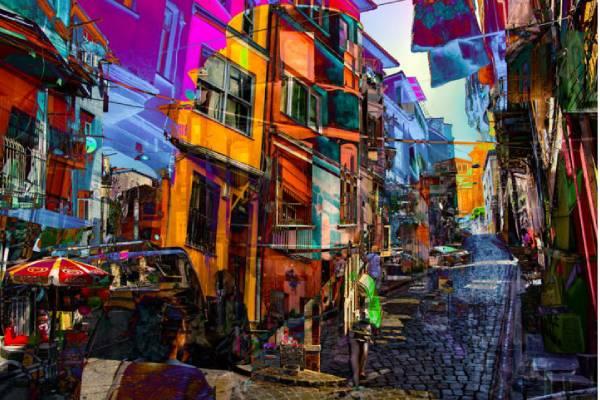 ایجاد احساسات در تصاویر با استفاده از رنگ ها