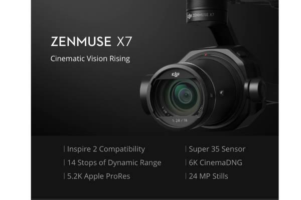 بررسی دوربین گیمبال Zenmuse X7
